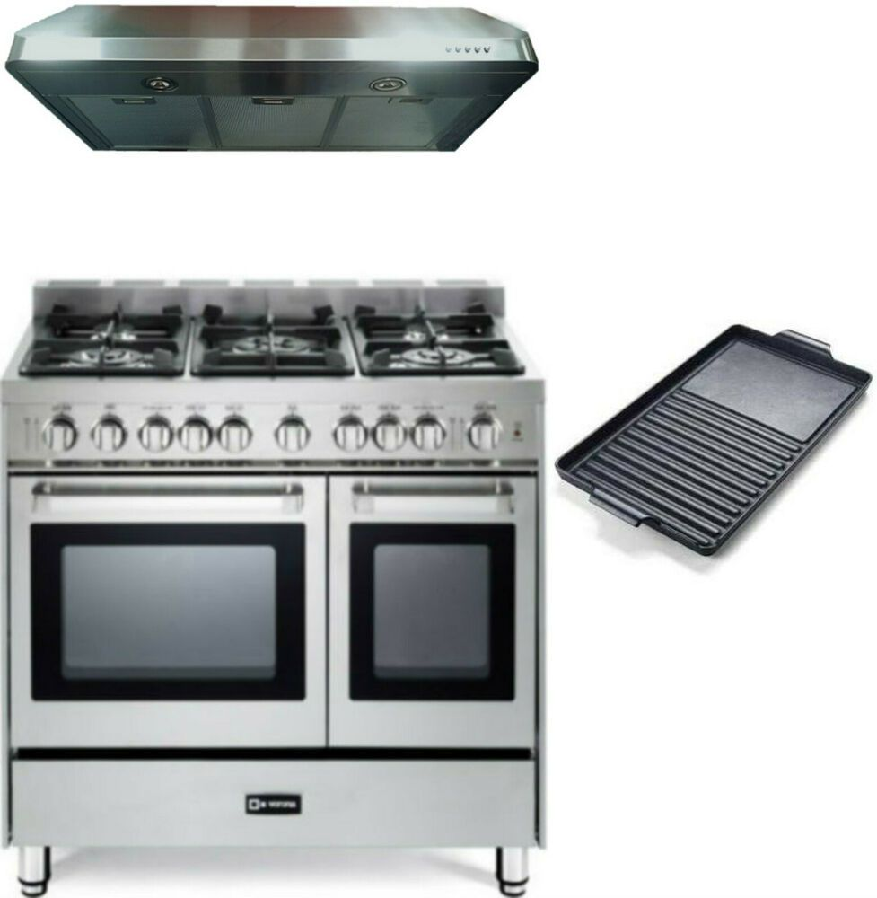 Ebay Sponsored Verona 36 Pro Style All Gas Range Double Oven