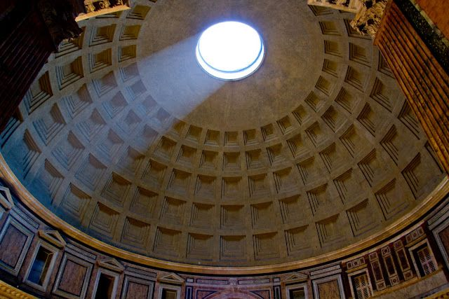 The Pantheon is a building in Rome, Italy, commissioned by ...