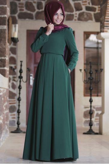 En Guzel Tesettur Boydan Elbise Modelleri Moda Tesettur Giyim Elbise Modelleri Elbise Islami Giyim