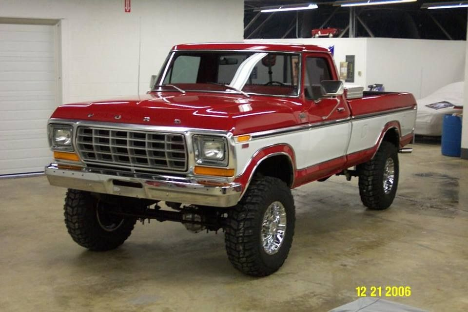 1978 F250 Love The 2 Tone Especially These Colors Ford Trucks