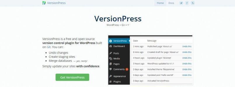 [ #WordPress ]- Setting Up VersionPress for Git-Powered WordPress Version Control
