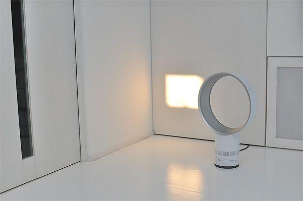 20100723181948 Jpg 白い家 ダイソン 扇風機