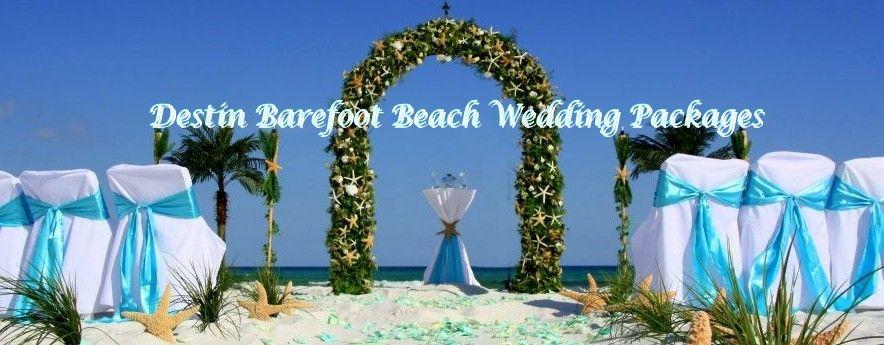 Destin Florida Barefoot Beach Wedding Packages