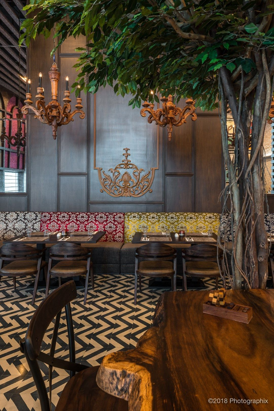Restaurant Design When Classic Meets Contemporary A Square Design The Architects Diary Restaurant Design Rustic Restaurant Interior Cafe Design