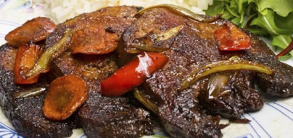 Beef Tongue Bafat is a popular Asian Side Dish
