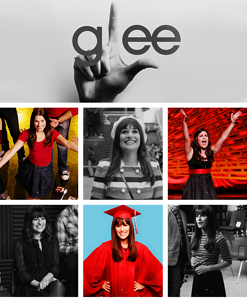 8. I love Glee TV series and Rachel Berry is my role model, I absolutely always related to her, I learned a lot of life lessons by watching Glee and it always makes me feel good.