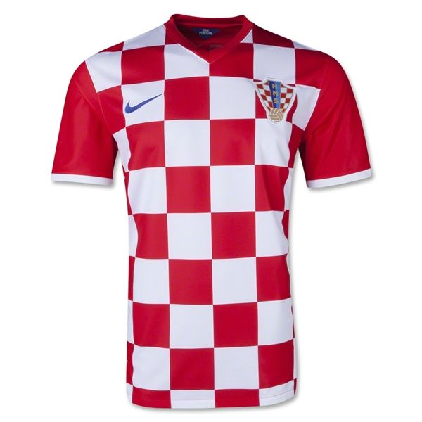 Croatia 2014 World Cup Home Jersey