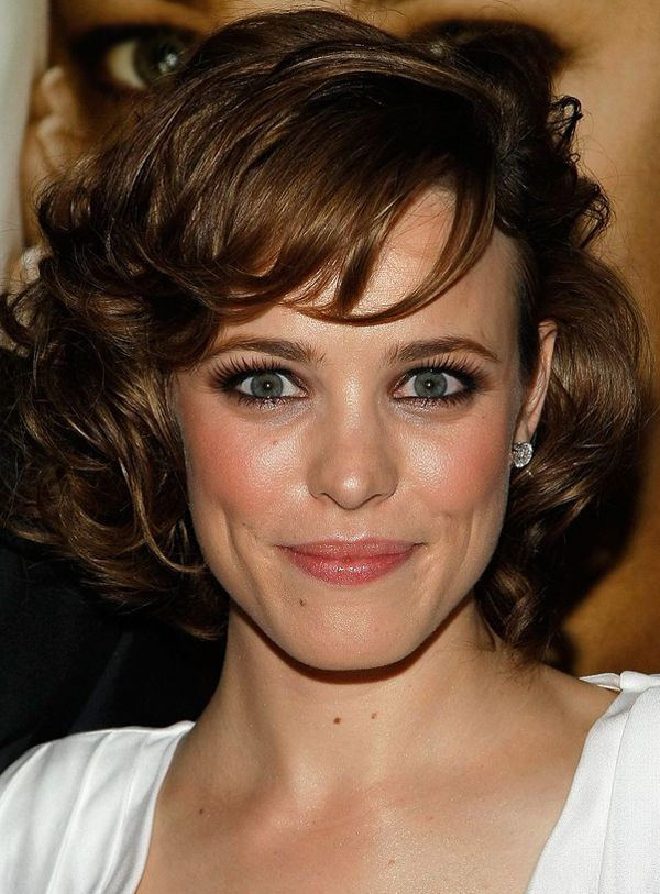 Curly Hairstyle Shoulder Length : Medium wavy hair with bangs hairstyle medium curly