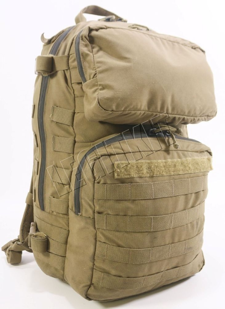 916bff7f1e USMC FILBE 3 Day Patrol Assault Pack   Pouch MOLLE Coyote Brown USGI Issue