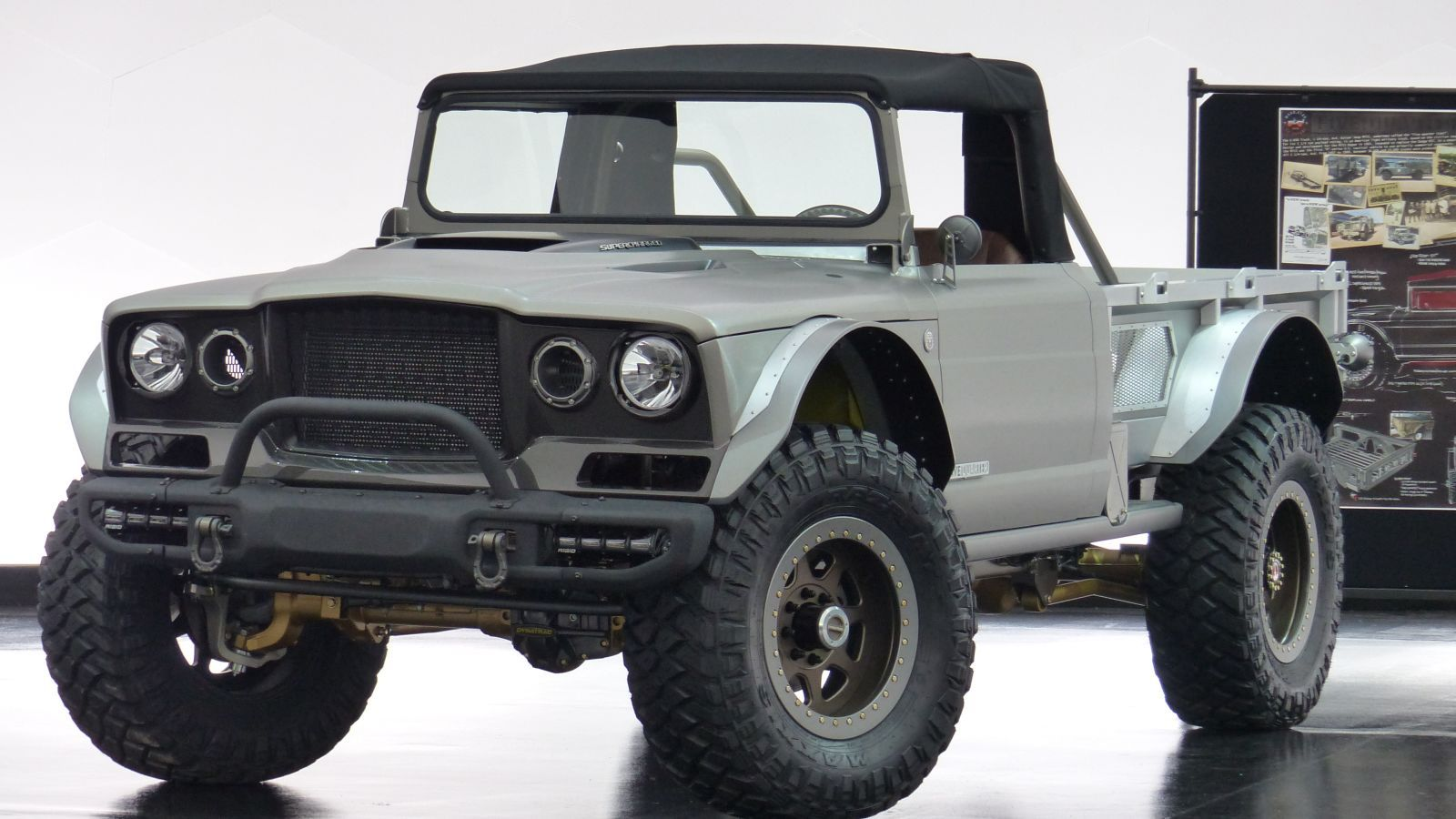The Jeep M 715 Five Quarter Is A 700 Hp Convertible Military