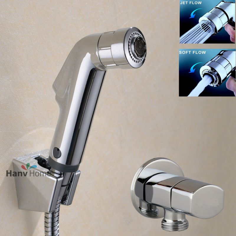 check discount toilet bathroom hand held bidet spray diaper shower ...