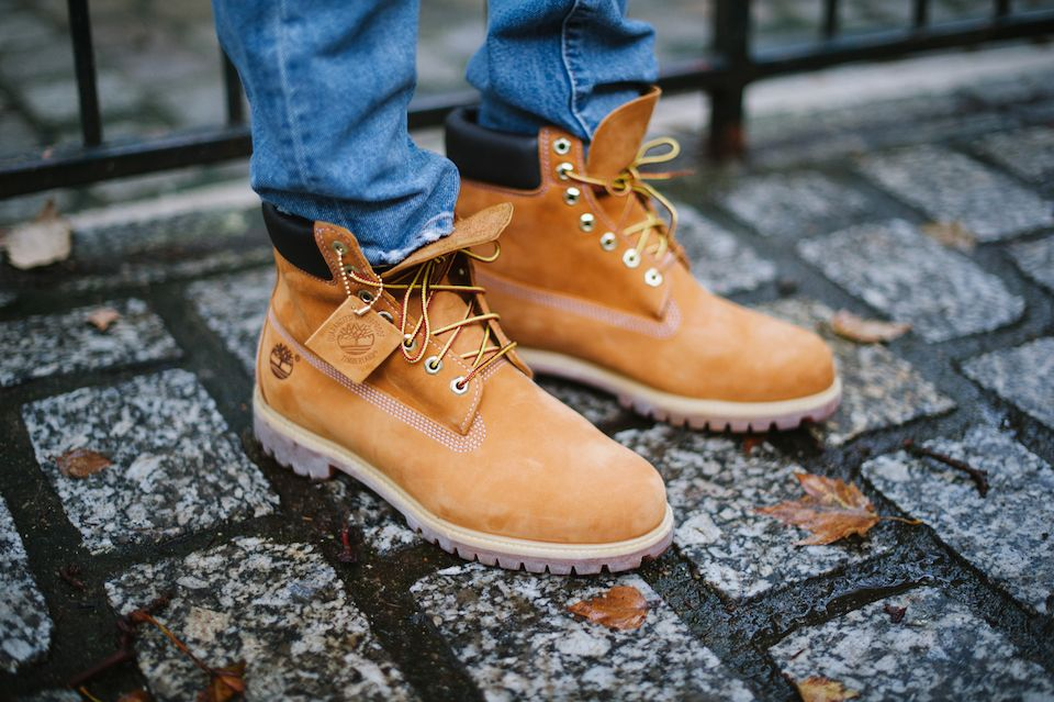 Les iconiques Yellow boots de chez Timberland #iconedemode