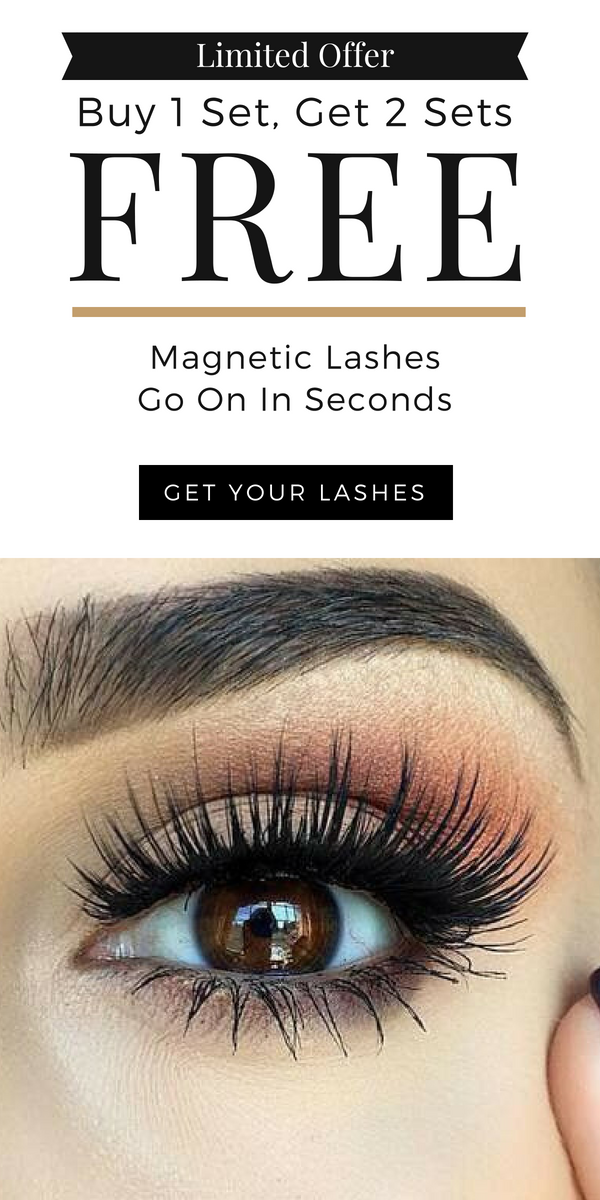 cea8450aabf Limited offer: Buy 1 set, get 2 sets FREE. Get your magnetic lashes. Goes  on in seconds. Enter your email to claim this offer.