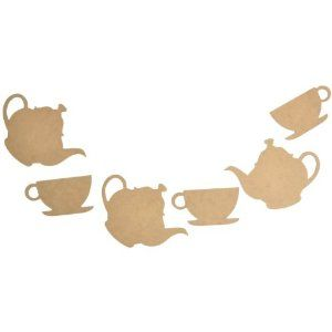 """Really cute idea for a Kitchen Tea or a little girls """"Tea"""" party!"""