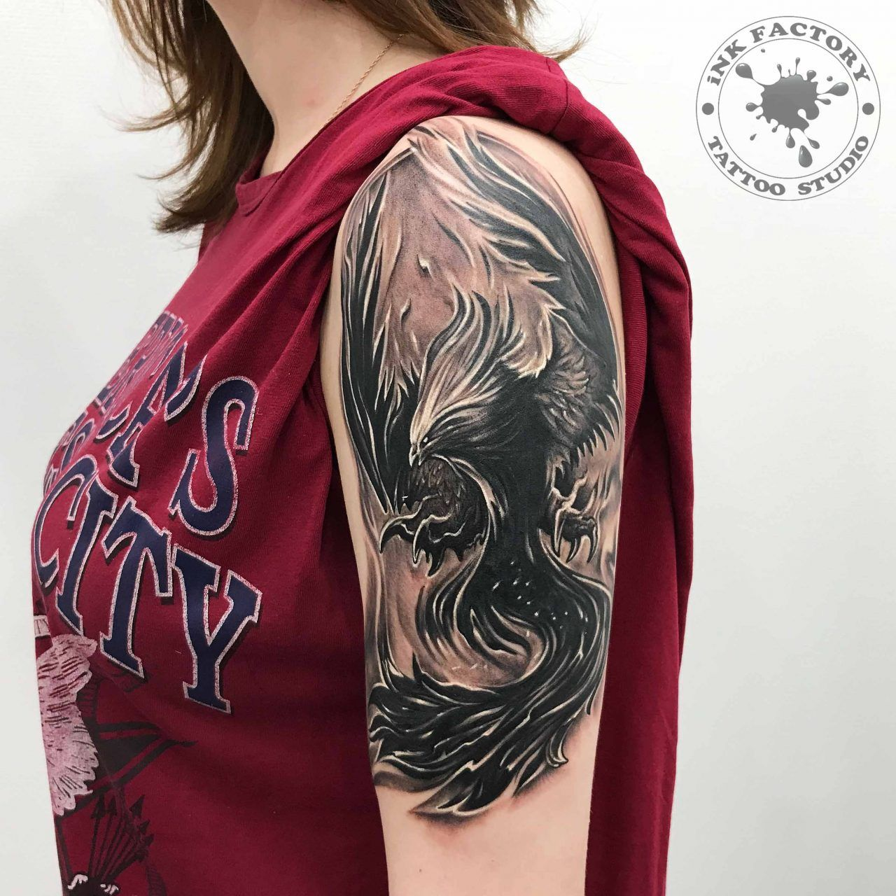 лучший значение тату феникса и жар птицы для девушек женщин и