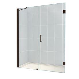 Dreamline 58 In To 59 In Frameless Hinged Shower Door 964