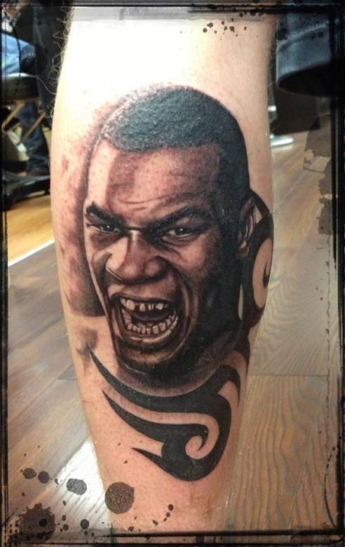 f0b239f6c Mike Tyson portrait by Martin Hatton | Tattoo - Portraits | Tattoos ...