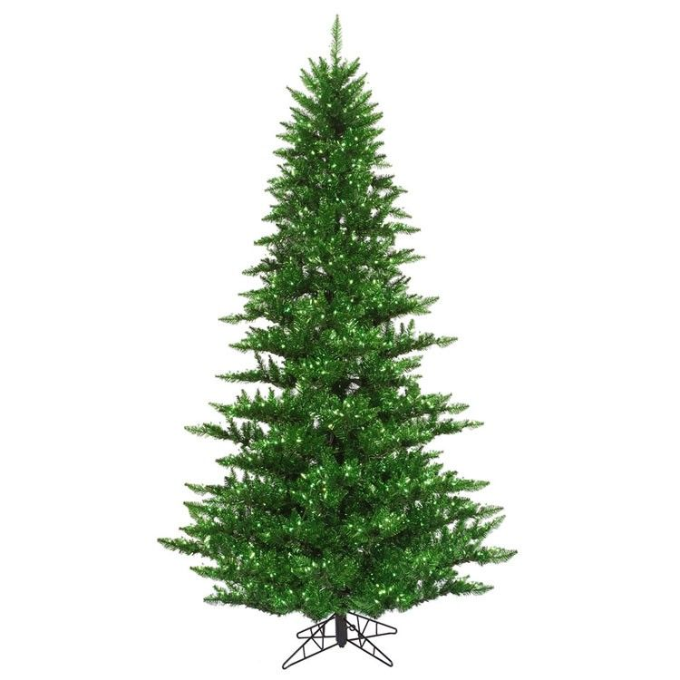 Shop online for this stylish 75 Foot Tinsel Green Fir Trees