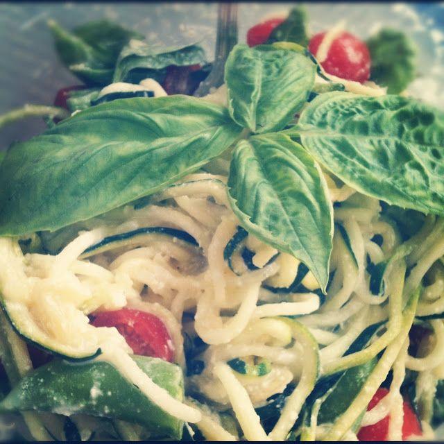 fettucini alfredo ... all raw #rawfood