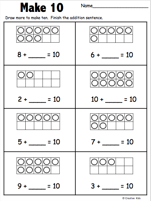 20++ How to make kindergarten worksheets Images