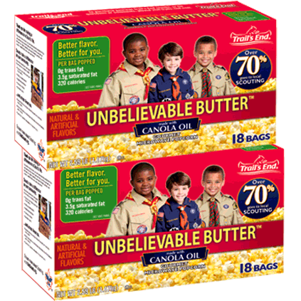 A Customer Favorite For Years Our 18 Pack Unbelievable Er Microwave Popcorn Is Full Of Rich Ery Flavor And Healthier Than Ever Before