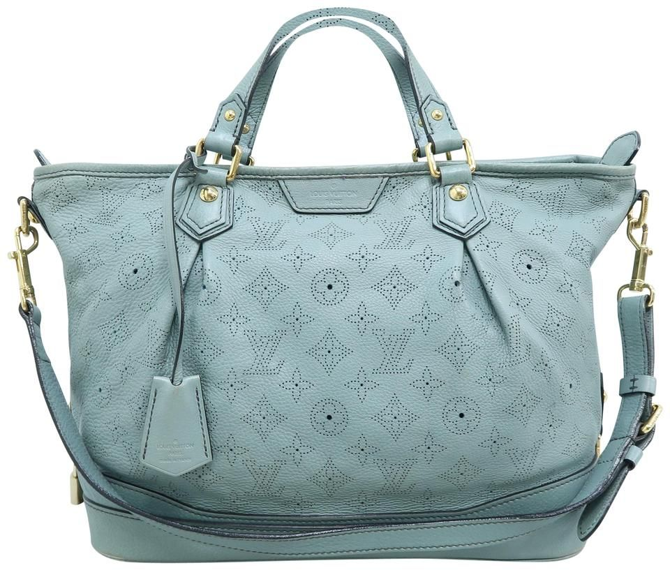 Louis Vuitton | Stellar Mahina Mistyblue Calfskin Hobo Bag