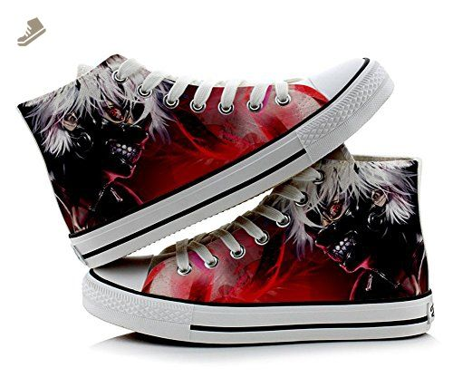 Tokyo Ghoul Kaneki Ken Cosplay Shoes Canvas Shoes Sneakers Colourful 4
