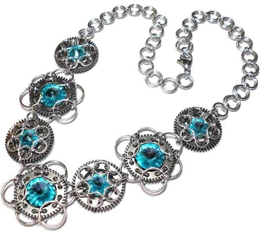 Chain Maille Jewelry Design Its All About the Unit Chains