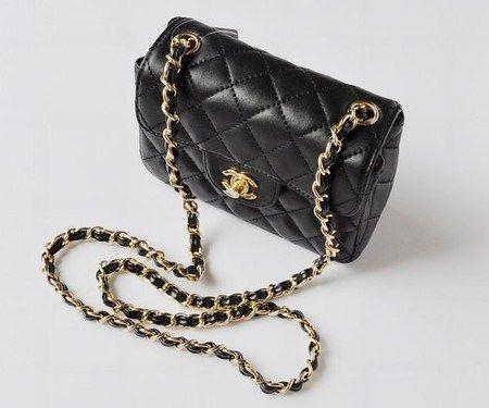 feb8df811 Bolsa Chanel CLASSIC FLAP MINI Premium – Preta – [Pequena] | Chanel ...