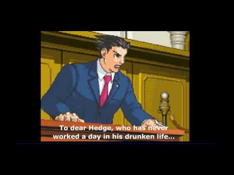 Phoenix Wright Ace Attorney Boot To The Head Youtube Phoenix Wright Ace Attorneys