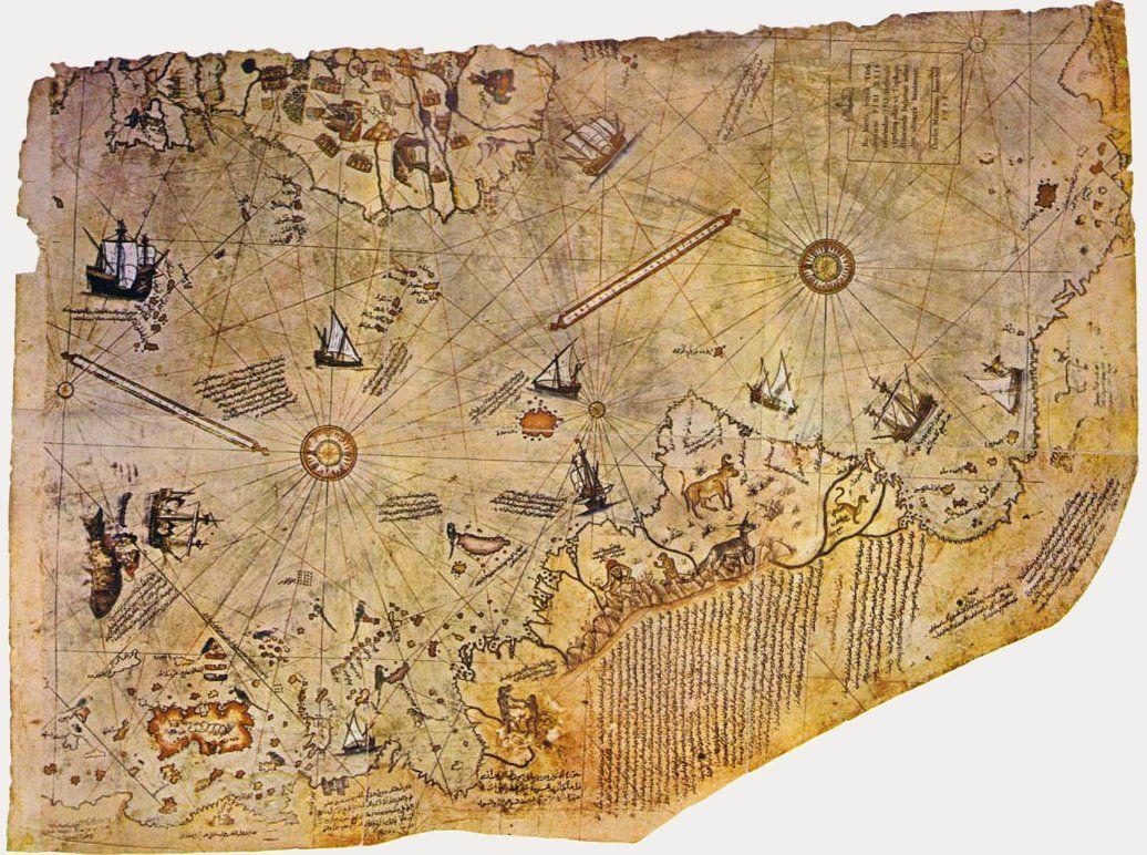 Piri Reis Karte Atlantis.Old Map Compass Designs Google Search Old Maps Piri