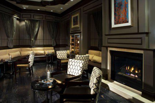 contemporary cigar lounge - Google Search