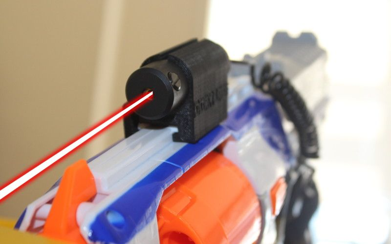 Nerf Dart Guns Battery Operated Laser Sight Pull Back Action C307A