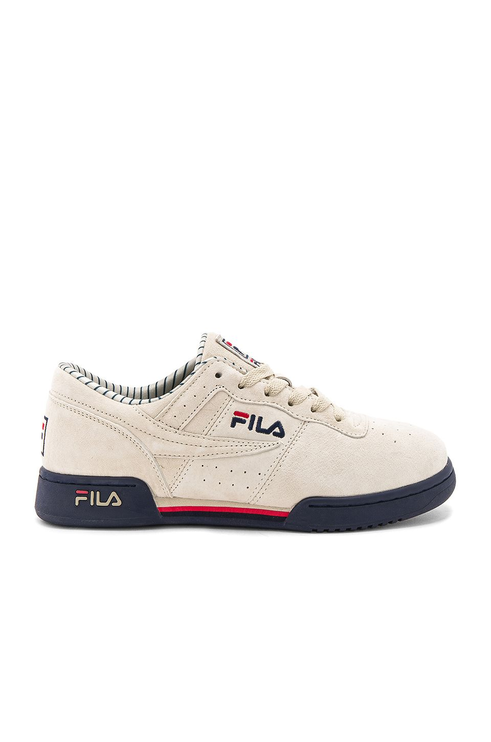 8d575aa3 Fila Original Fitness PS in Cream & Navy & Red | cool shoes in 2019 ...