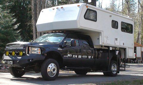 F 550 With Pick Up Conversion And Bigfoot Camper Lots Of Extras