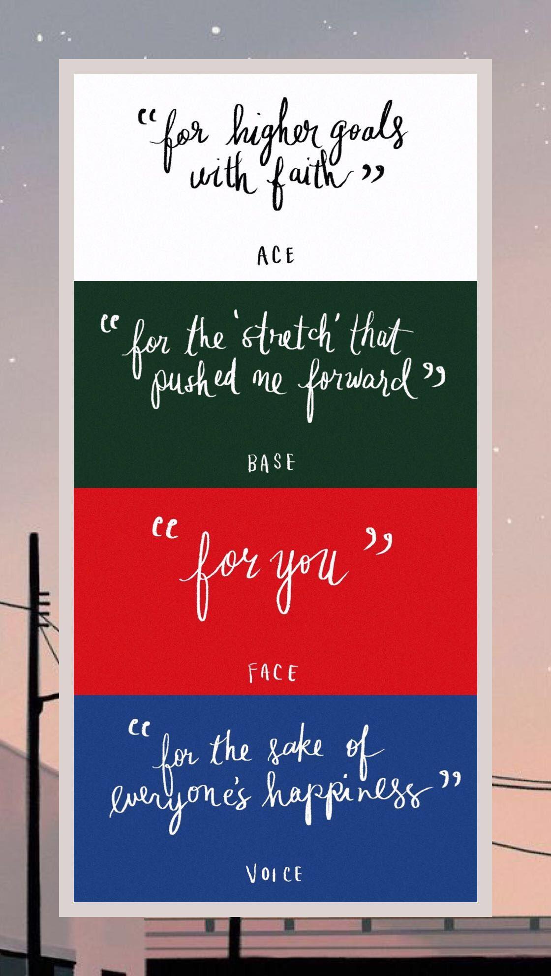 SHINee #Onew #Jonghyun #Key #Minho #Taemin #ACE #BASE #FACE
