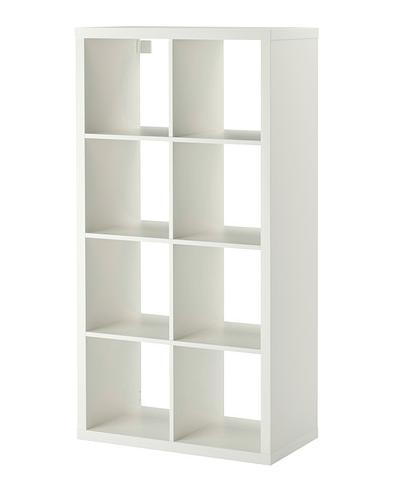 Ikea Open Kast Kallax Wit 8 Vakken 5995 39 Cm X 147 Cm X