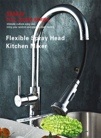 How to fix or replace a leaking kitchen faucet sprayer ...
