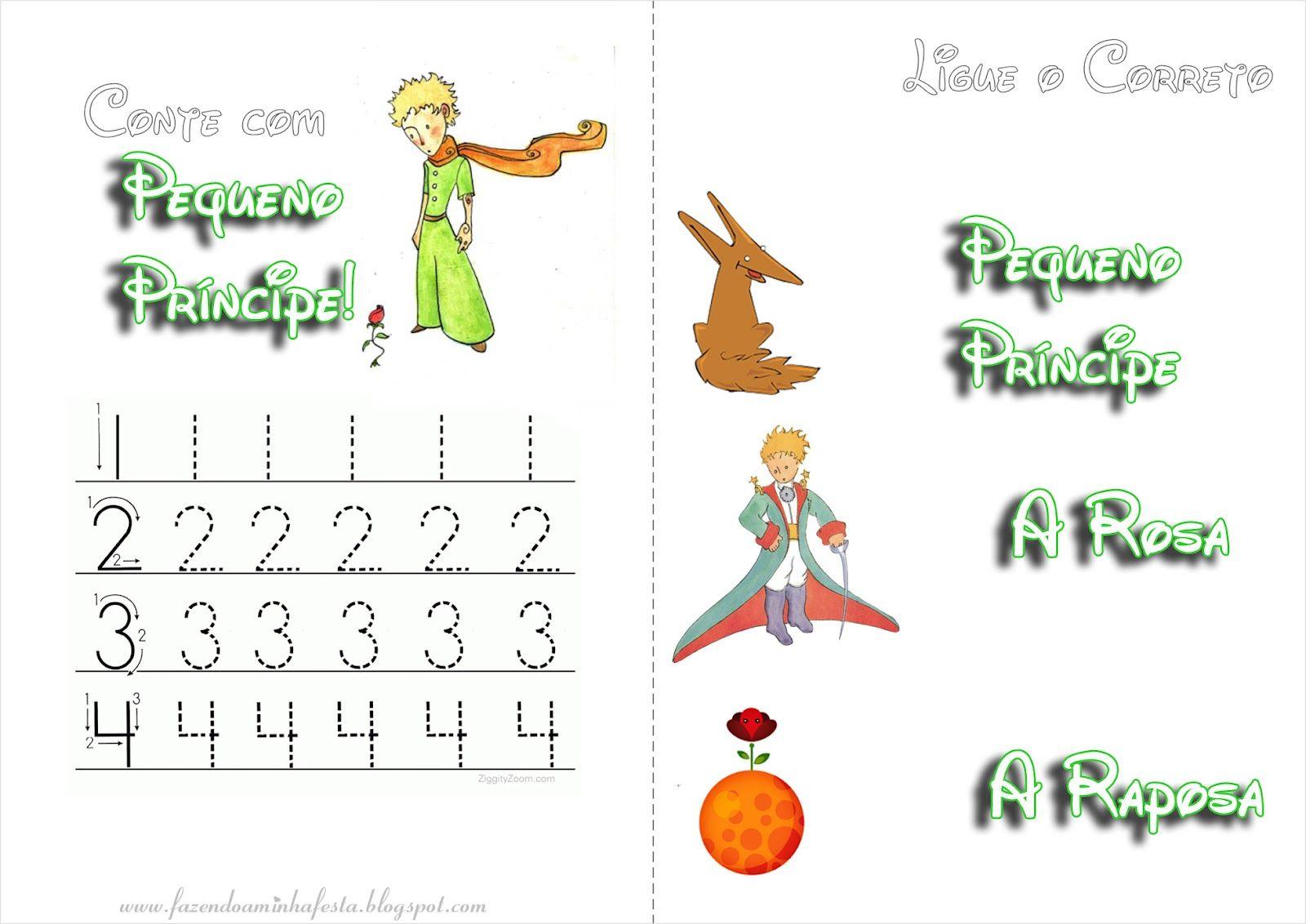Pagina 6 Jpg 1600 1132 Pequeno Principe Livros De Atividades