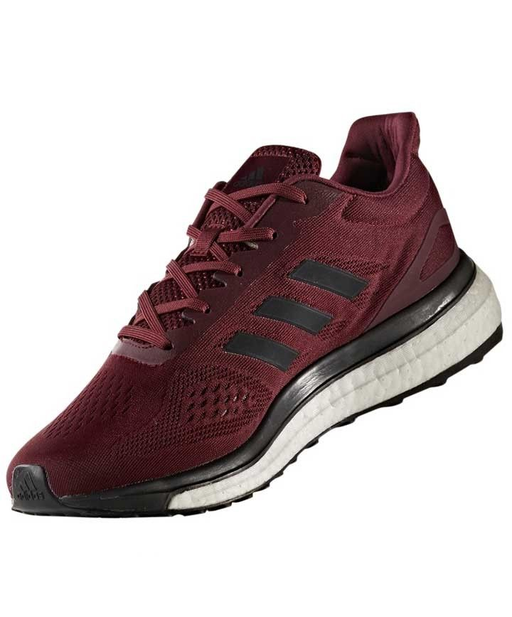 sports shoes bbf6c 4a96f Adidas Maroon Response Boost Lt Shoes - FOOTWEAR - ADIDAS - BRANDS
