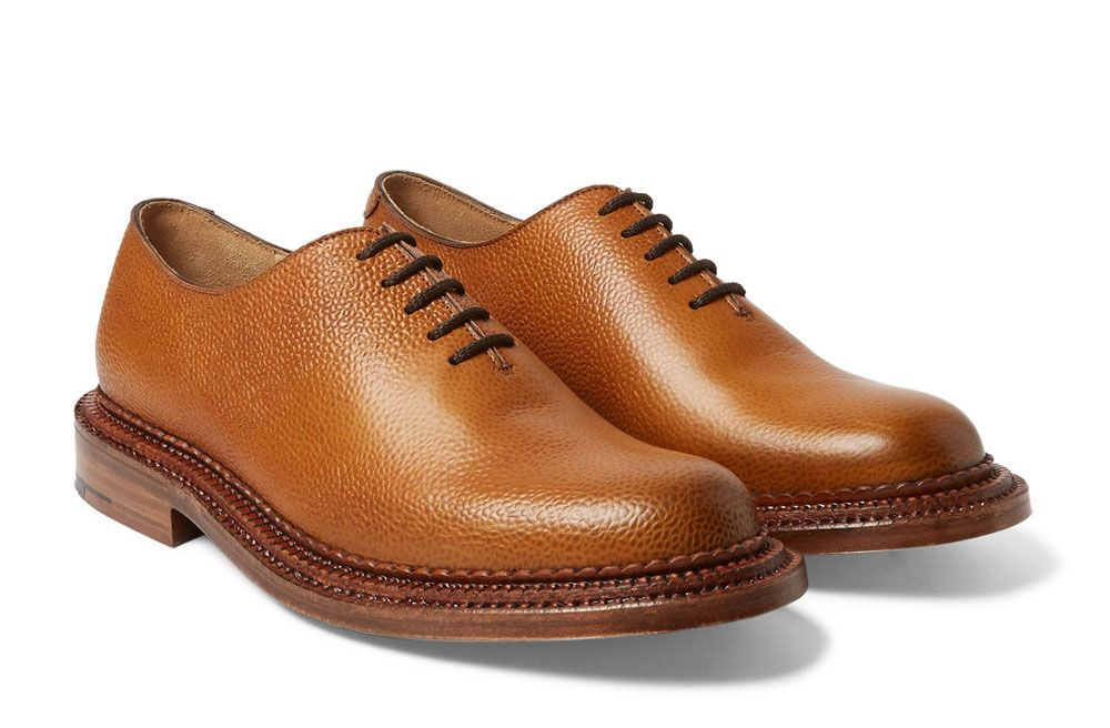 Stanley Cuir - Tan Brogues Bout D'aile Grenson WdIIYuE