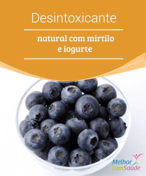 Desintoxicante Natural Com Mirtilo E Iogurte Receitas Receitas