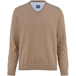 Photo of Olymp Strickpullover, moderne Passform, Taupe, S olympymp