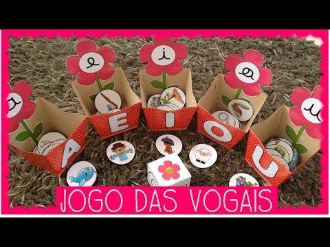 Jogo Pedagogico Para Ensino Das Vogais Maiusculas E Minusculas Bastao E Cursiva Para Exercitar A Identifica Jogos Educacao Infantil Educacao Infantil Jogos