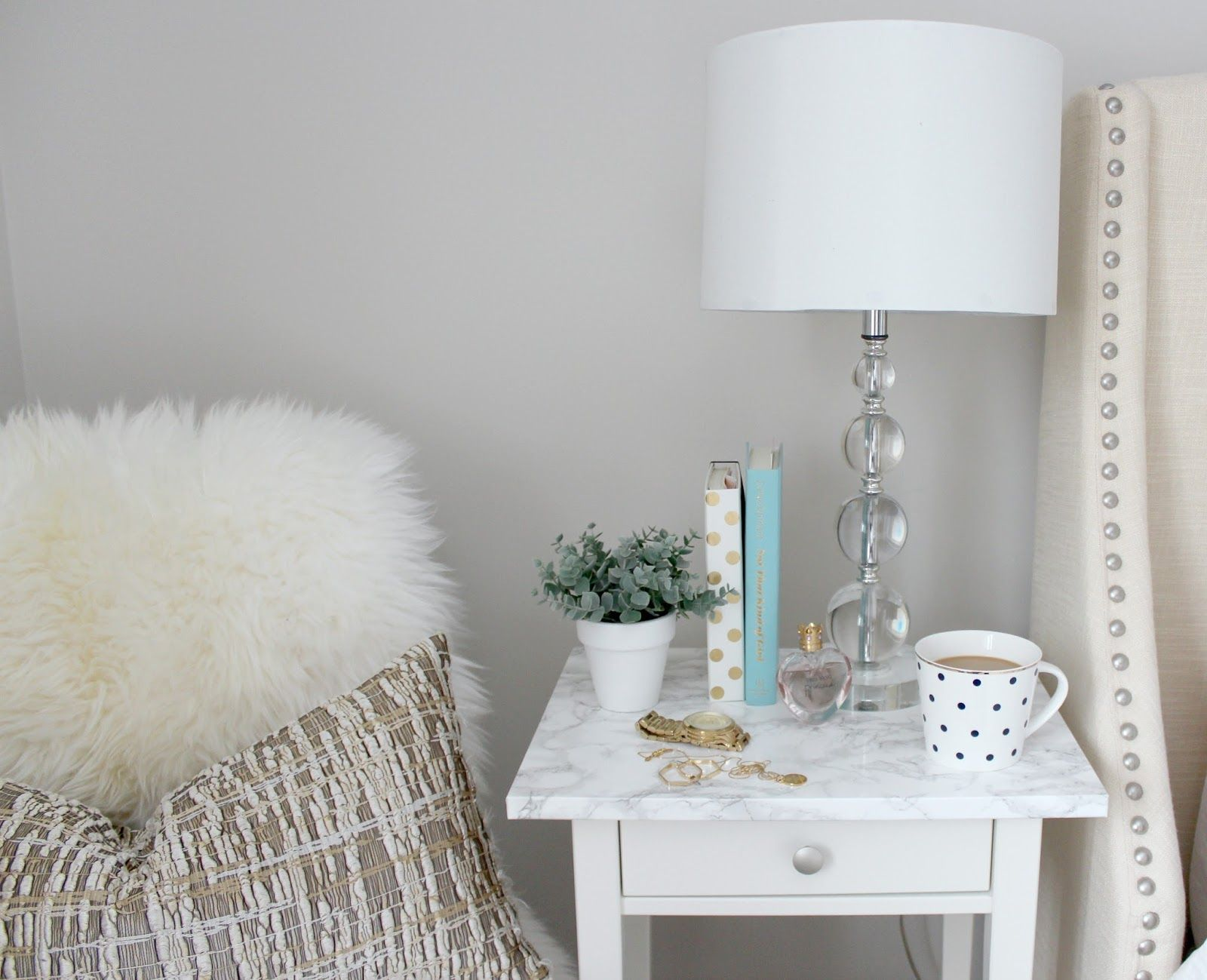 How To Jazz Up A Simple Ikea Hemnes Nightstand. This Simple