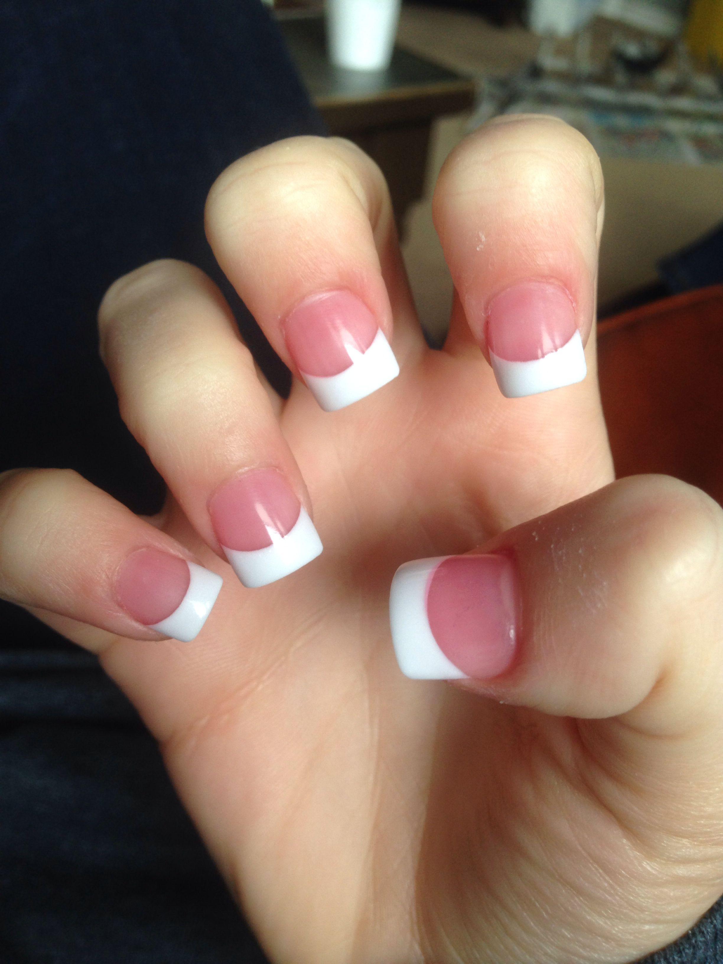 Basic American solar nails | Nails | Pinterest | Solar, Nail nail ...