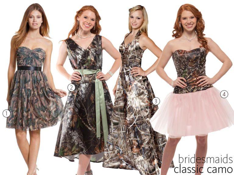 31 Camo Wedding Dresses and Bridesmaid Dresses | Camo wedding ...