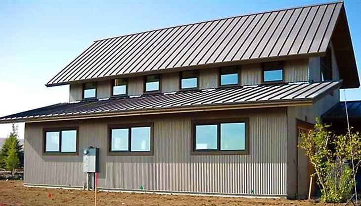 Pin By Desertgirl On Metal Siding Metal Roof Metal Siding Modern Roofing