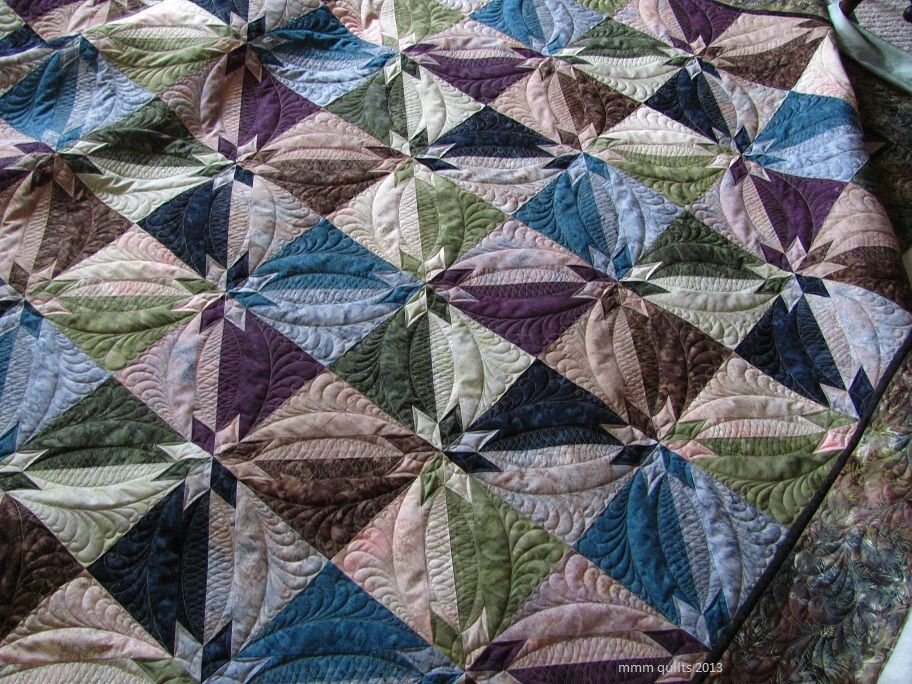 I've finished and given to Paula her Hunter Star Quilt. My Aunt ... : hunter star quilt pattern - Adamdwight.com