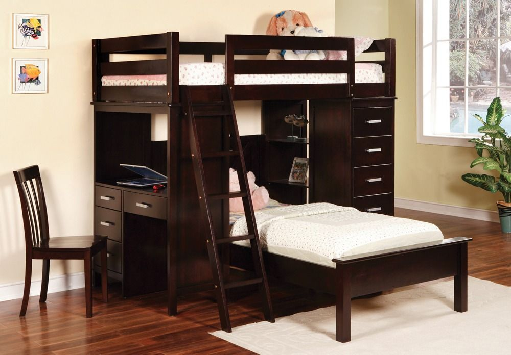 Cheap Bunk Bed With Drawers